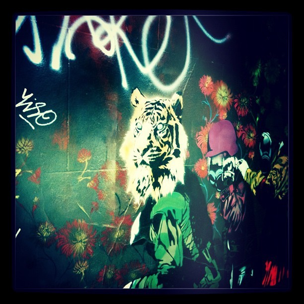 Graffiti (Tiger)