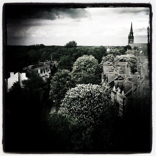 Harrogate - aerial view